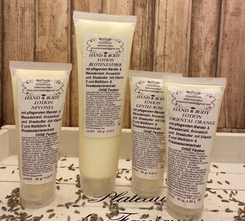 Hand & Body Lotion groß